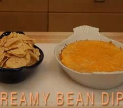 Baked Creamy Bean Dip